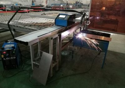 Potongan CNC 100A Plasma Cutting Machine for 1-15mm Iron Sheet