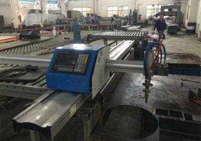 Mesin pemotong plastik cnc plasma potongan mudah ringan