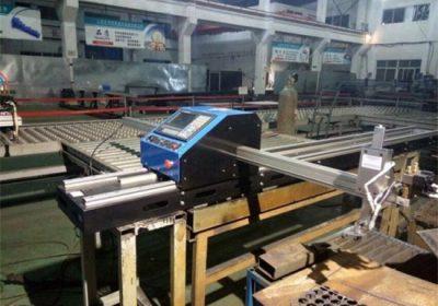 Plastik piring gantry CNC flame plasma cutting machine