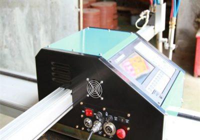 CNC Portable Plasma cutting machine, Oksigen bahan bakar Metal cutting machine price