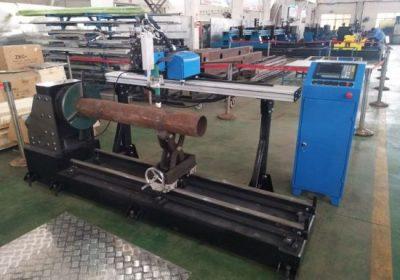 Mesin pemotong pipa stainless steel portable kabel cnc plasma
