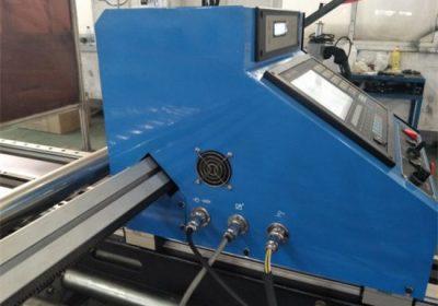 potongan cnc 43A mesin pemotong plasma power START Brand LCD panel control system harga pemotongan mesin logam