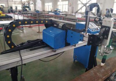Mesin pemotong plastik cnc pemotongan untuk baja stainless steel baja logam