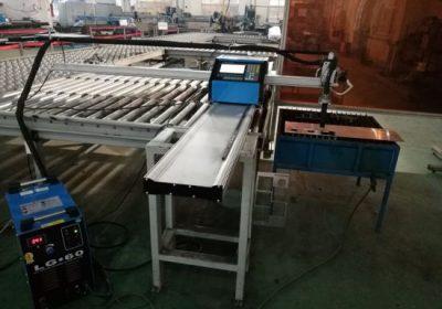 CNC portable plasma / flame cutting machine kanggo pemotongan aluminium
