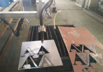 Pabrik rega 1530 plasma cutting machine kanggo stainless steel sheet baja karbon cnc pemotong plasma ing stok